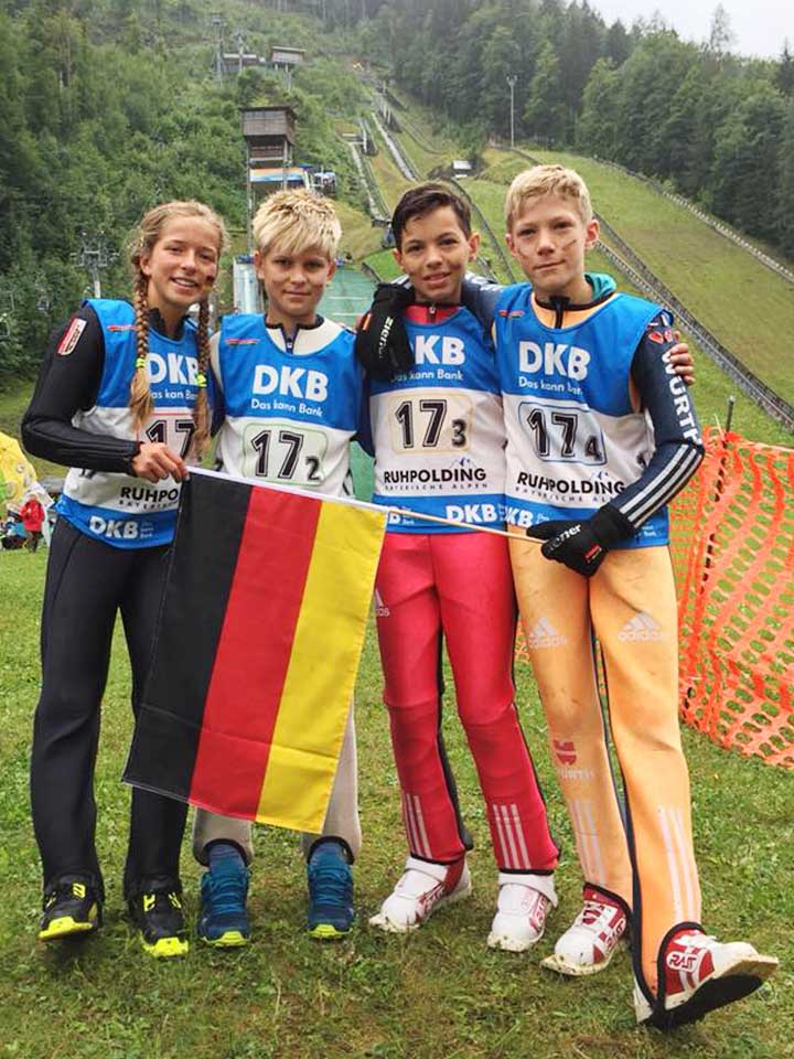 Max springt in Deutschland-Auswahl zu Bronze