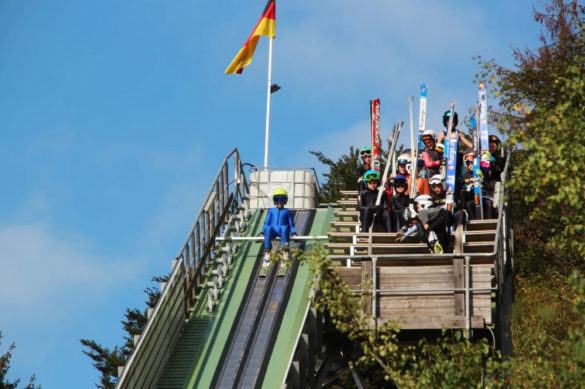 Skispringen in Biberschlag - Foto: SV-Biberau.de